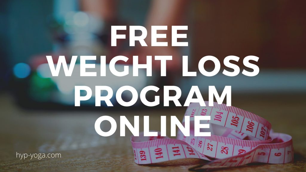 free weight loss program online